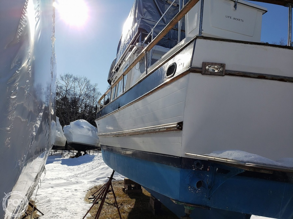 1978 Marine Trader boat for sale, model of the boat is 34 DC & Image # 30 of 40