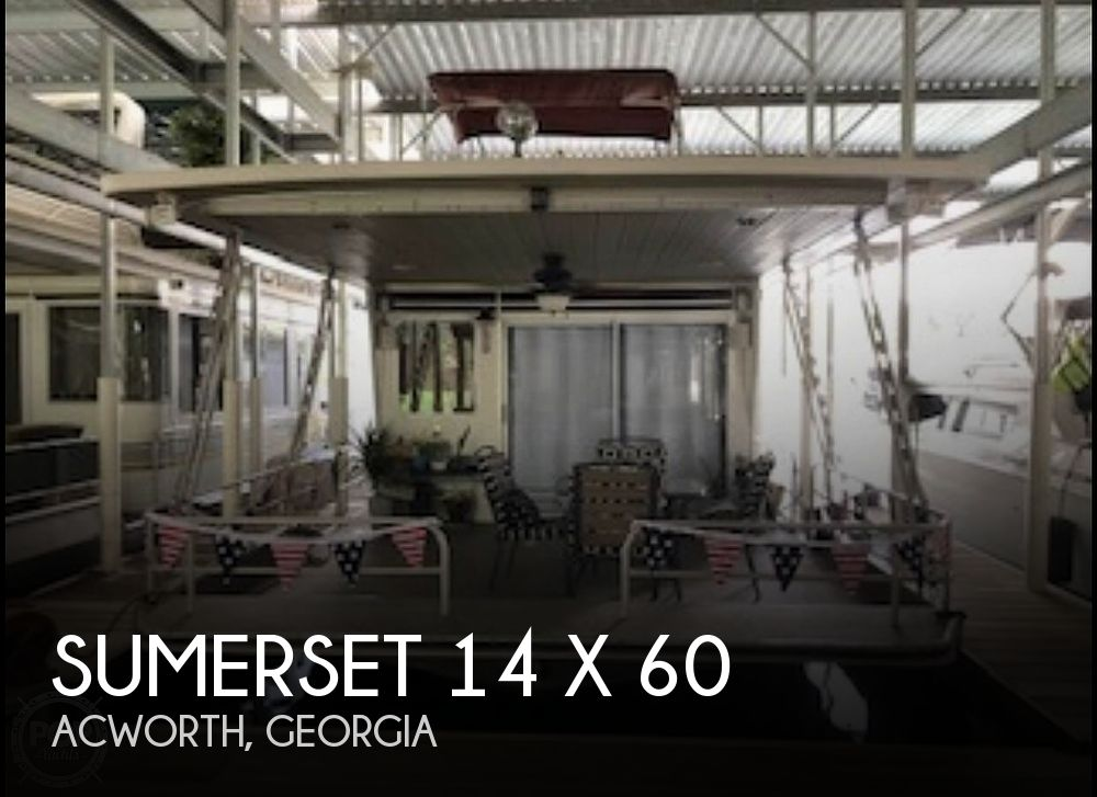 Used Houseboats For Sale in Georgia by owner | 1986 Sumerset 60' x 14'