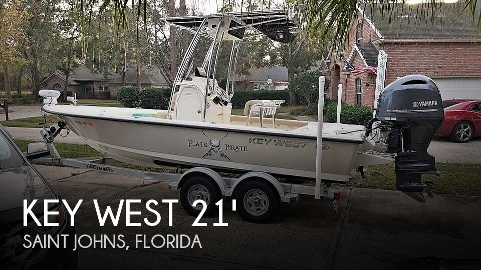 Used Key West Boats For Sale in Jacksonville, Florida by owner | 2017 Key West 210 Bay Reef