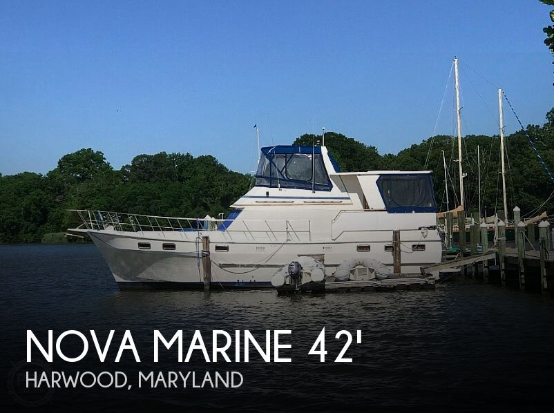 Used Motoryachts For Sale in Maryland by owner | 1985 Nova Marine Sundeck 42