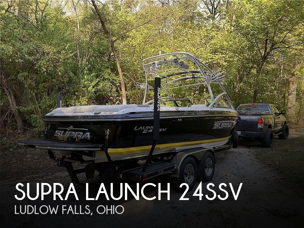 Used SUPRA Boats For Sale in Ohio by owner | 2006 Supra Launch 24ssv