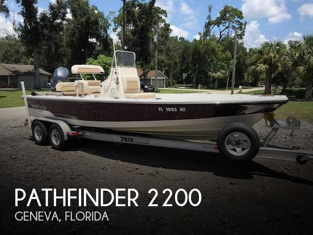 Used Pathfinder Boats For Sale by owner | 2009 Pathfinder 2200