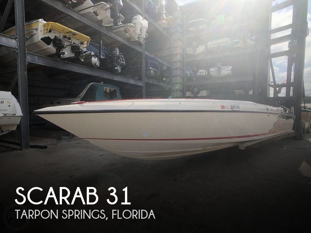 1997 Scarab boat for sale, model of the boat is 31 & Image # 1 of 41