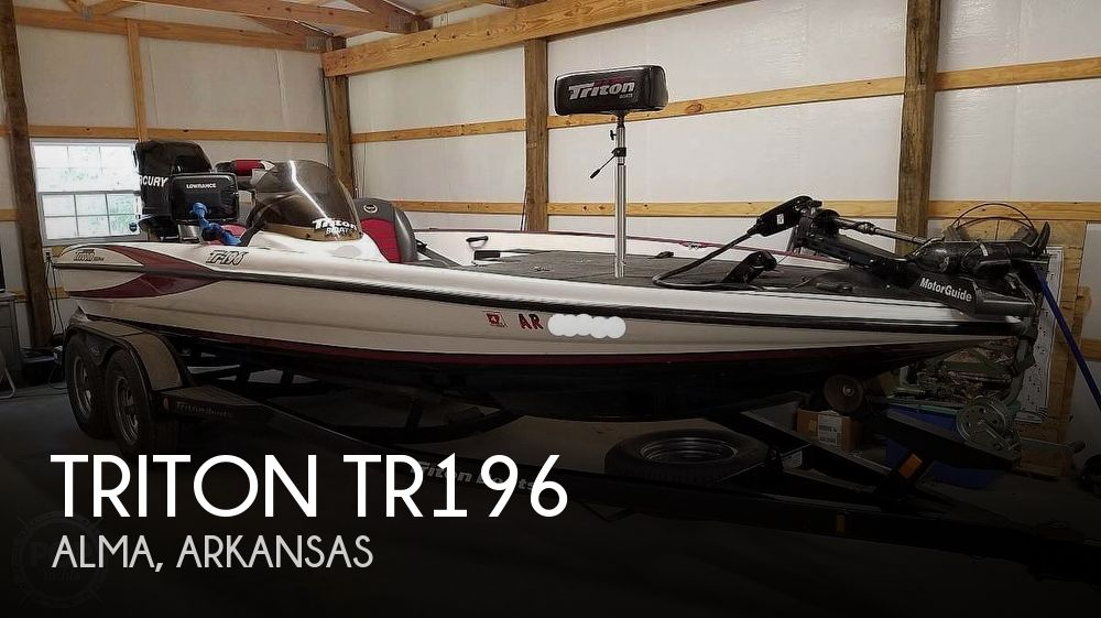 Used Boats For Sale in Fort Smith, Arkansas by owner | 2008 Triton TR196