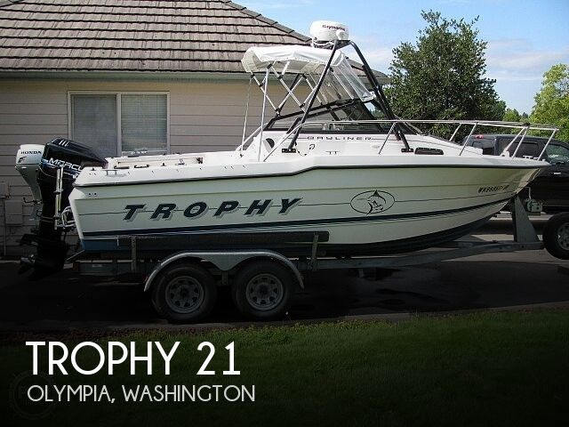 Used Trophy Boats For Sale in Washington by owner   1997 Trophy 21