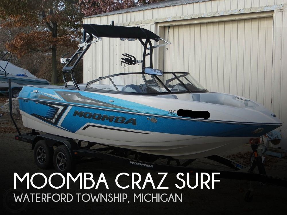 2017 MOOMBA CRAZ SURF for sale