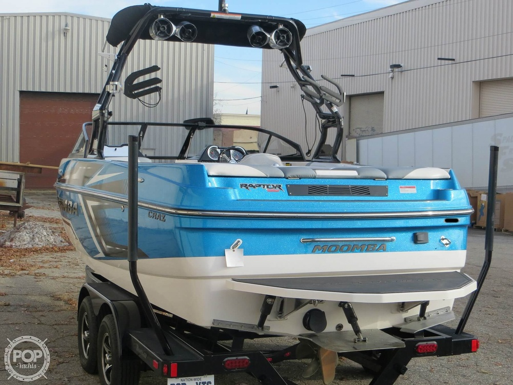 2017 Moomba boat for sale, model of the boat is Craz Surf & Image # 2 of 40