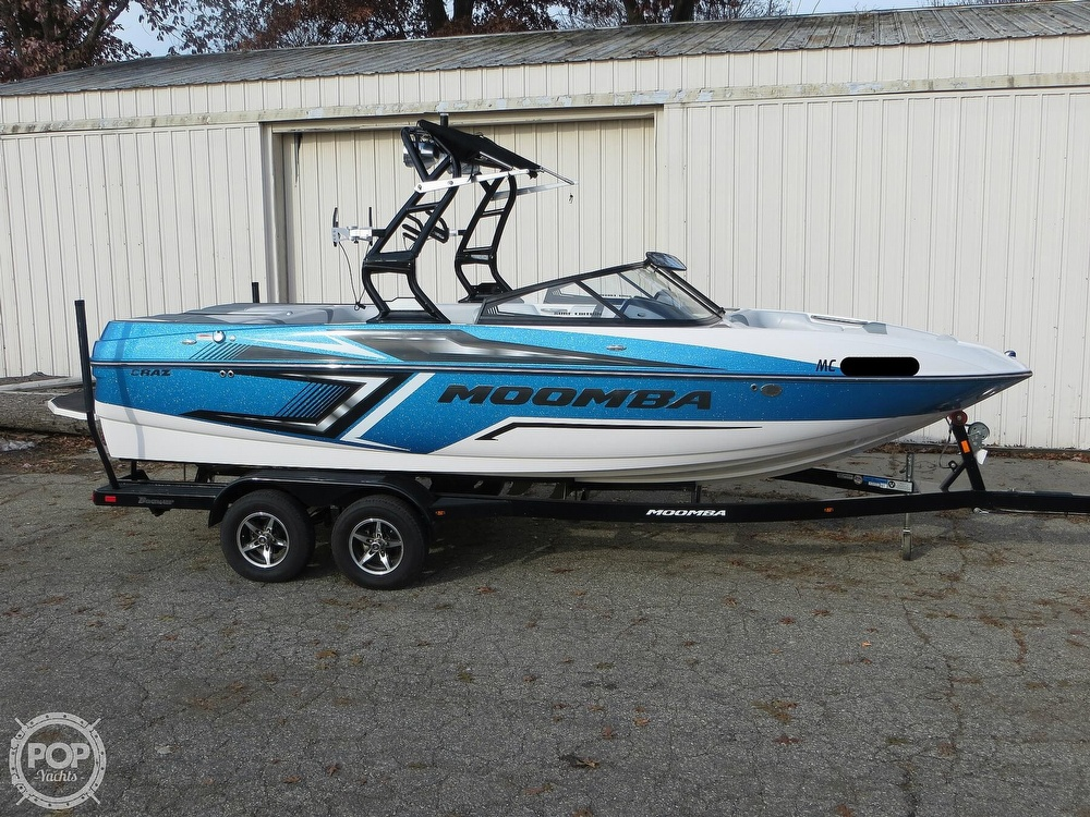 2017 Moomba boat for sale, model of the boat is Craz Surf & Image # 13 of 40