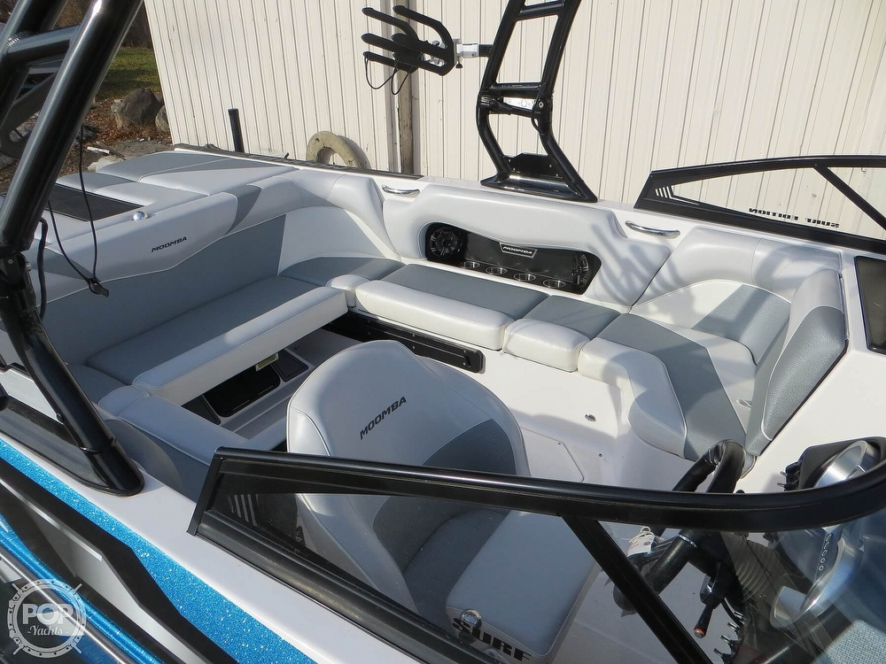 2017 Moomba boat for sale, model of the boat is Craz Surf & Image # 22 of 40