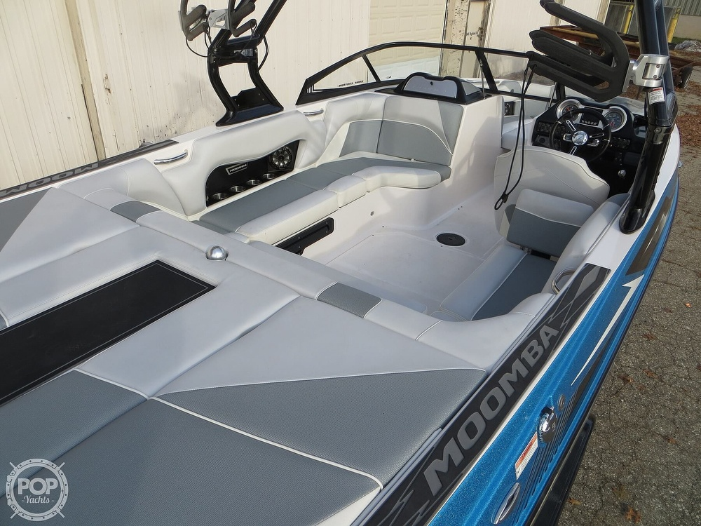 2017 Moomba boat for sale, model of the boat is Craz Surf & Image # 28 of 40