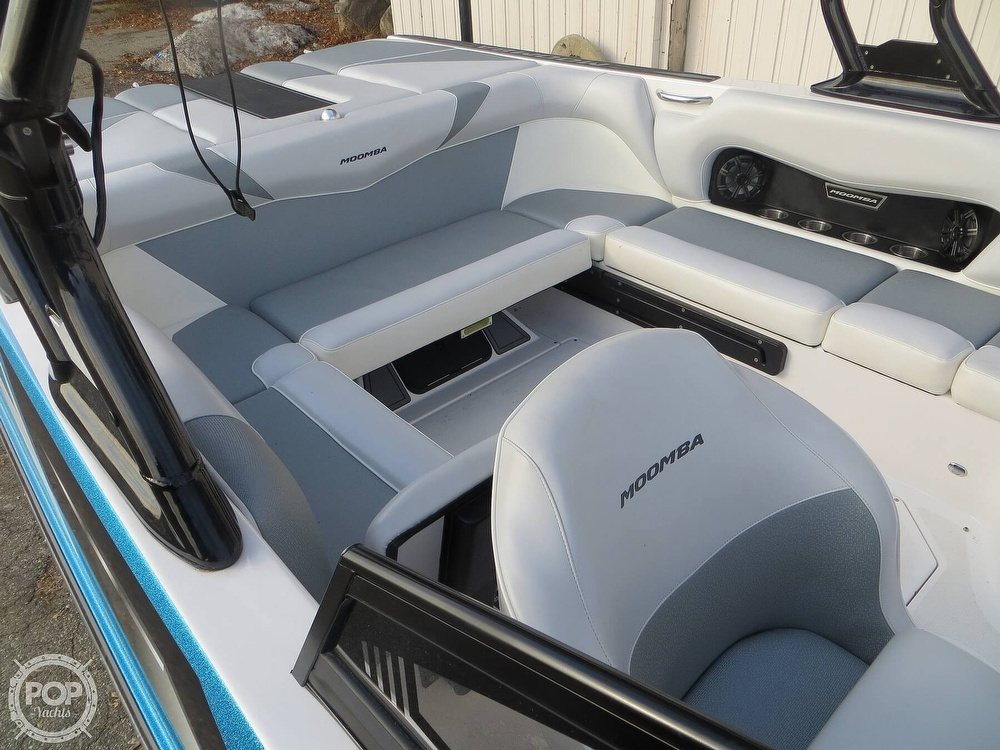 2017 Moomba boat for sale, model of the boat is Craz Surf & Image # 30 of 40