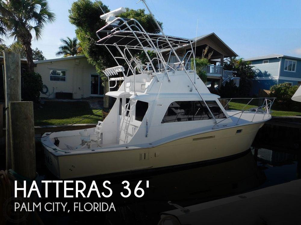 1977 Hatteras 36 Convertible