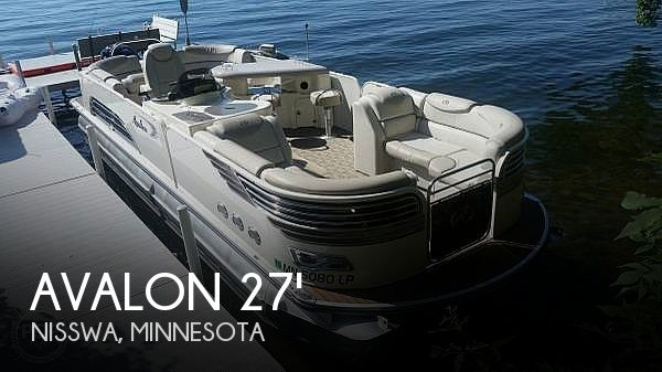 Used Boats For Sale in Minnesota by owner | 2014 27 foot Avalon AMBASSADOR ENTERTAINER