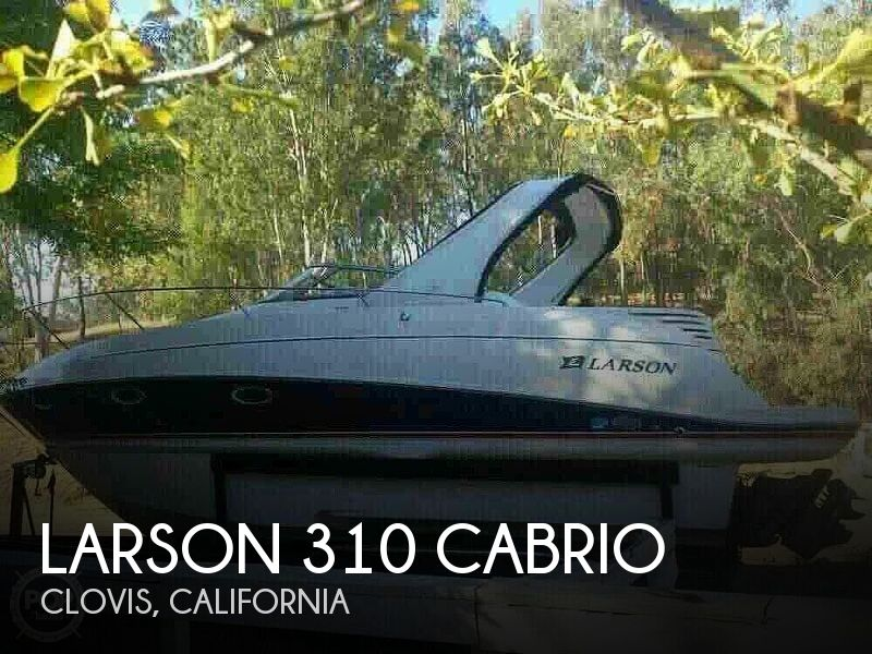 Used Boats For Sale in Fresno, California by owner | 2006 Larson 310 Cabrio