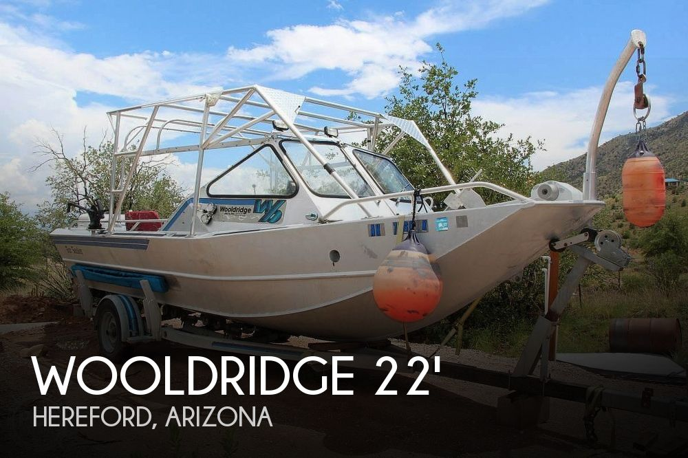 Used Boats For Sale in Tucson, Arizona by owner | 1986 22 foot Wooldridge Alaskan XL