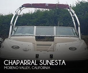 Used Chaparral Sunesta Boats For Sale by owner | 2005 26 foot Chaparral Sunesta