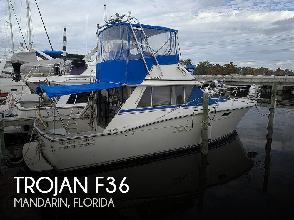 1989 Trojan boat for sale, model of the boat is F36 & Image # 1 of 40