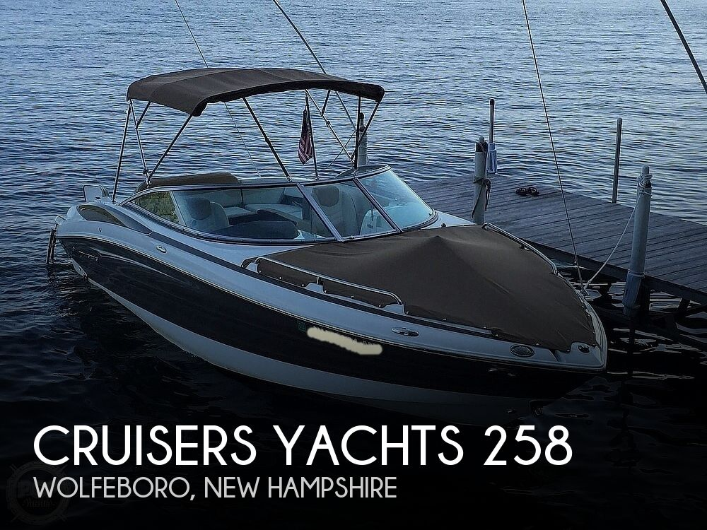 2015 CRUISERS YACHTS SPORT SERIES 258 BR for sale
