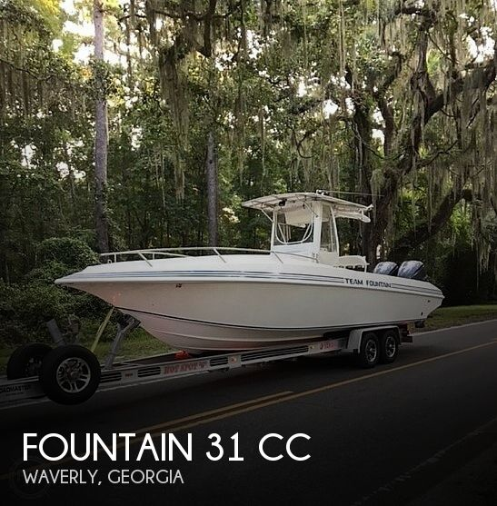 Used Power boats For Sale in Georgia by owner | 1996 Fountain 31 CC