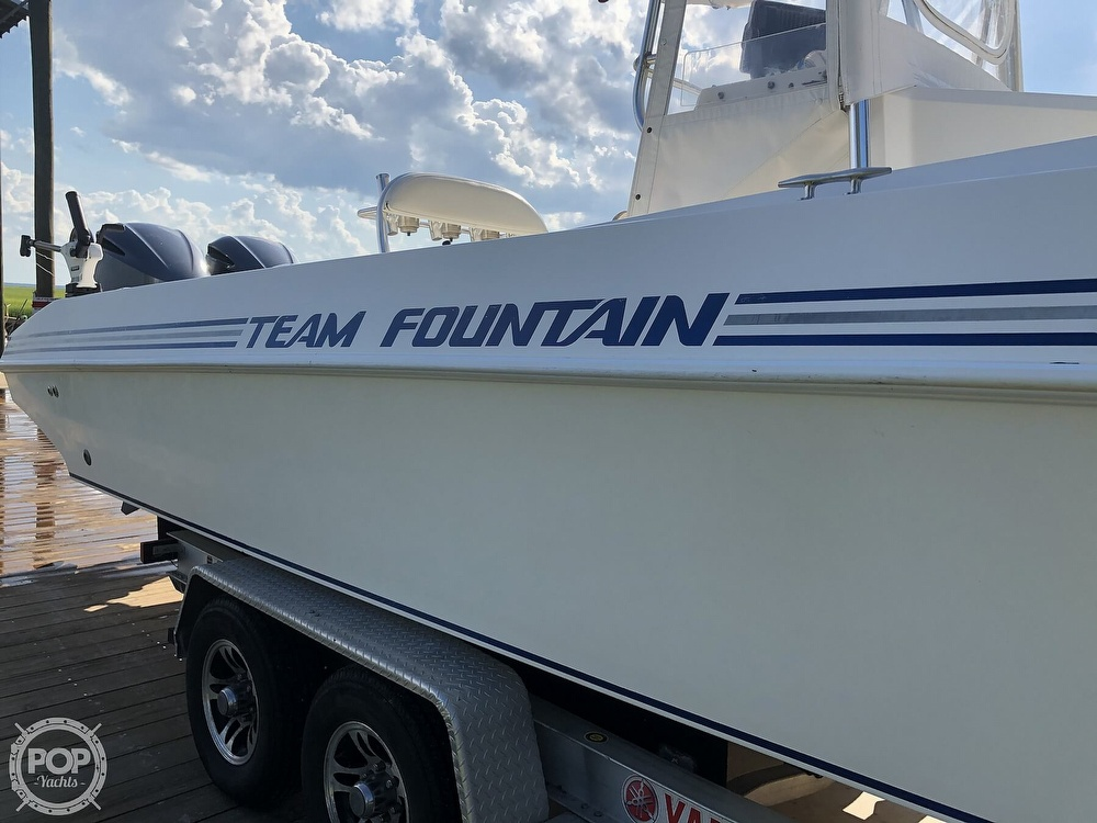 1996 Fountain boat for sale, model of the boat is 31 CC & Image # 36 of 40