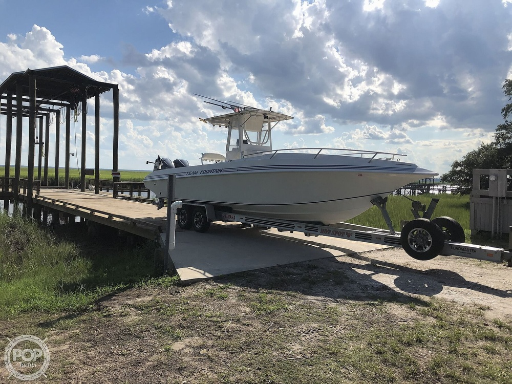 1996 Fountain boat for sale, model of the boat is 31 CC & Image # 2 of 40