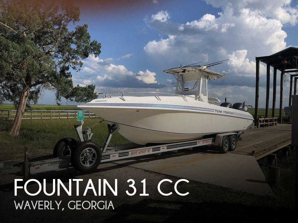 1996 Fountain boat for sale, model of the boat is 31 CC & Image # 1 of 40