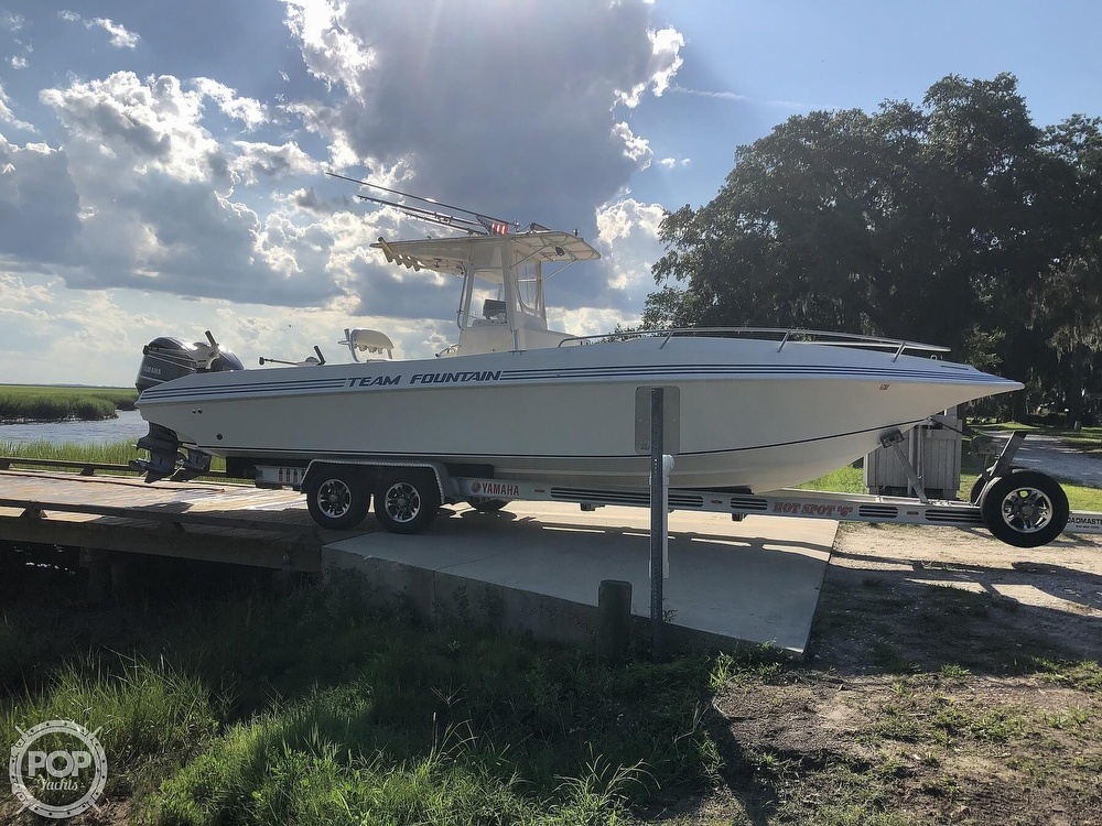 1996 Fountain boat for sale, model of the boat is 31 CC & Image # 6 of 40