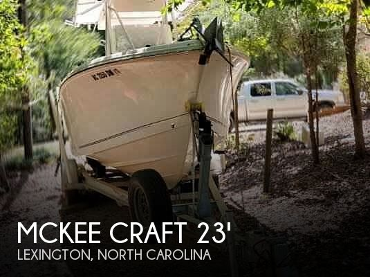 Used Boats For Sale in Greensboro, North Carolina by owner | 2009 Mckee Craft 23TE