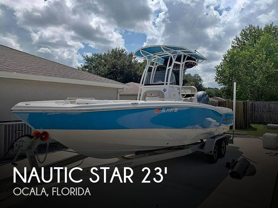 Used Nautic Star Boats For Sale by owner | 2017 Nautic Star 231 Angler