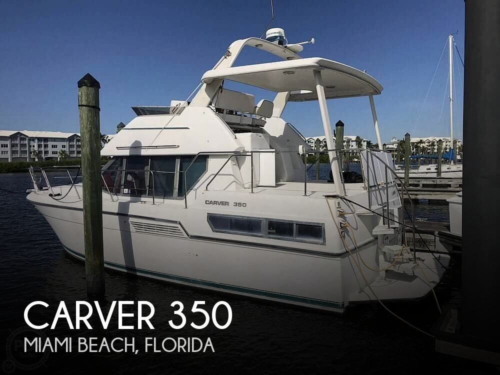Used Carver Boats For Sale in Florida by owner | 1994 Carver 350 Aft Cabin Motoryacht