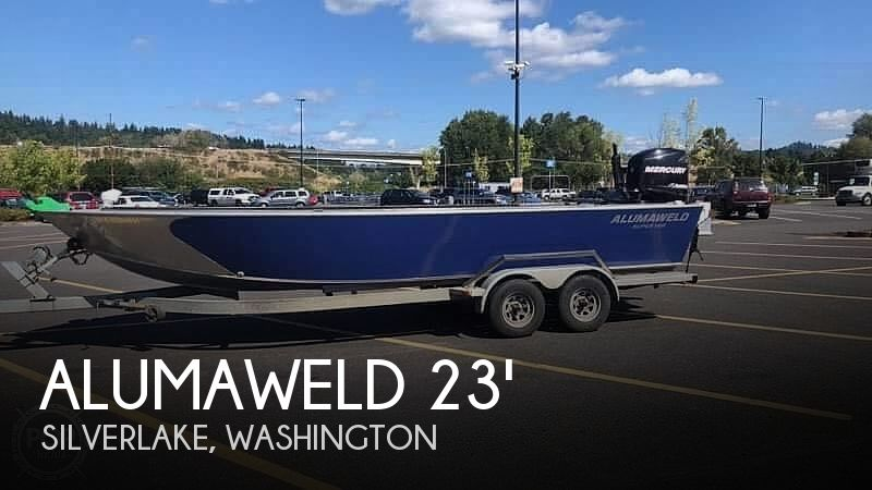 Used Fishing boats For Sale in Washington by owner | 2013 23 foot Alumaweld Alumaweld Best