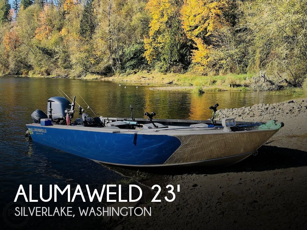 2013 Alumaweld boat for sale, model of the boat is Super Vee Pro & Image # 1 of 12