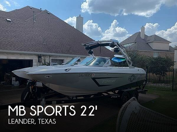 Used MB Sports Boats For Sale by owner | 2016 MB Sports 24