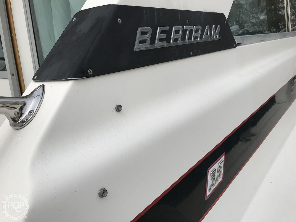 1979 Bertram boat for sale, model of the boat is 35 Convertible & Image # 27 of 40