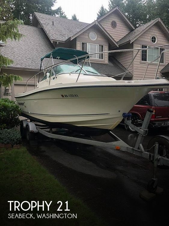 Used Trophy Boats For Sale in Washington by owner   2006 Trophy 21