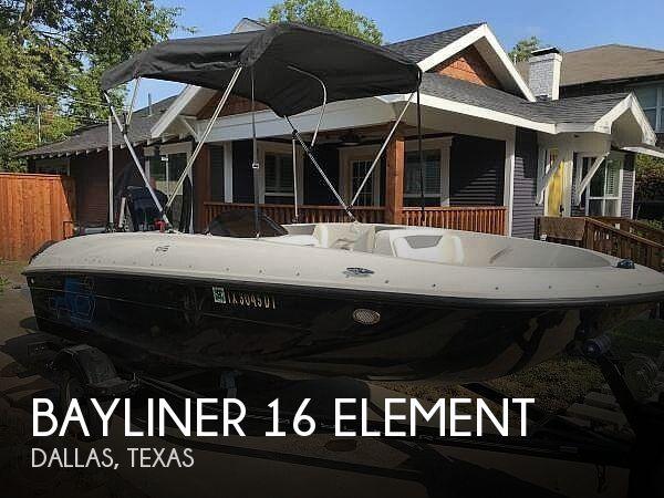 Used Bayliner Deck Boats For Sale in Texas by owner | 2017 Bayliner 16 Element