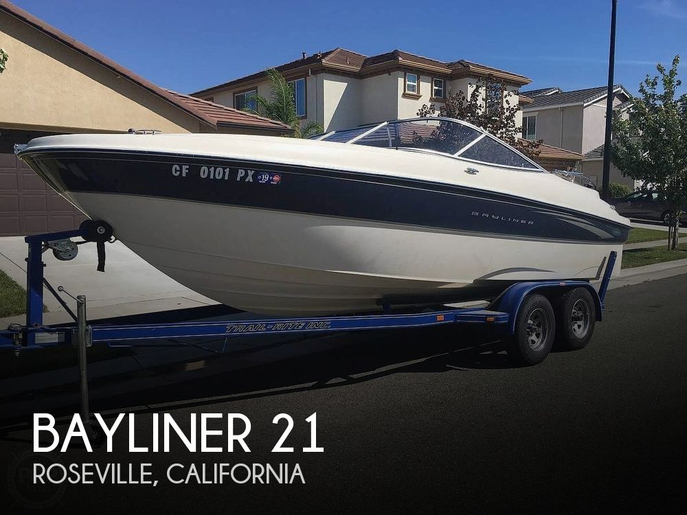Used Bayliner Boats For Sale in Sacramento, California by owner   2002 Bayliner 21