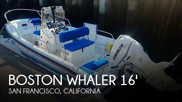 Used Boston Whaler Boats For Sale in California by owner | 2001 Boston Whaler 16