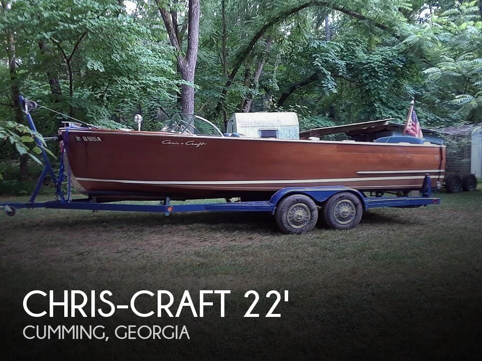 Used Ski Boats For Sale in Georgia by owner | 1953 Chris-Craft U22 Sportman