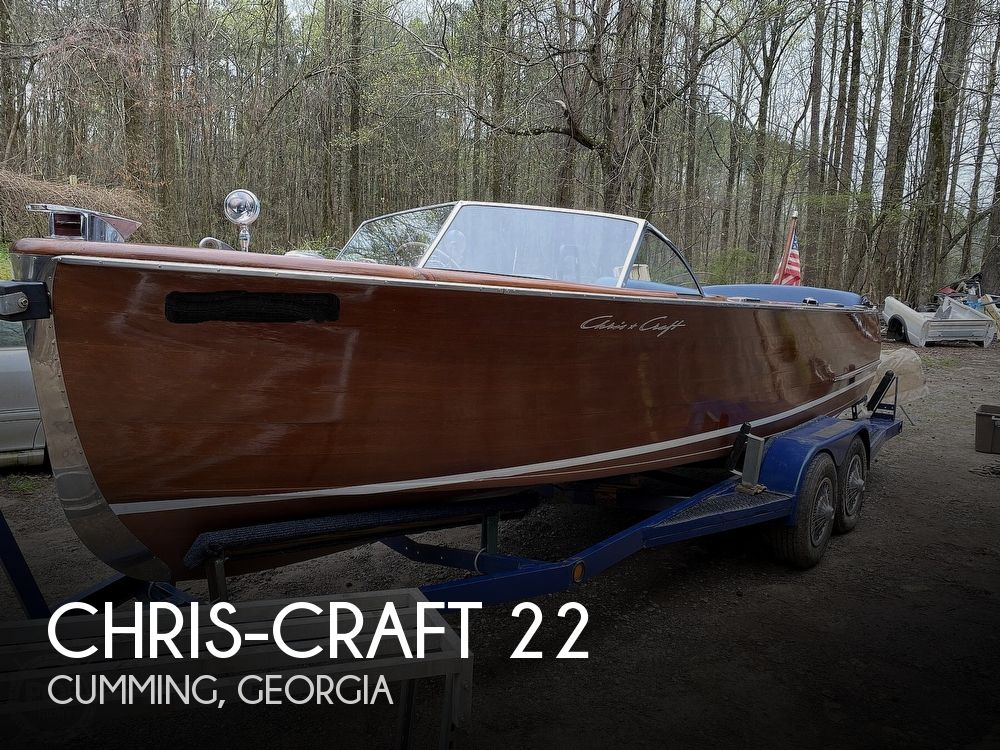 1953 CHRIS CRAFT U22 SPORTMAN for sale