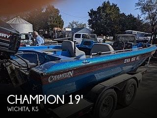 Used Boats For Sale in Wichita, Kansas by owner | 1995 Champion 190 Fish Hunter Elite