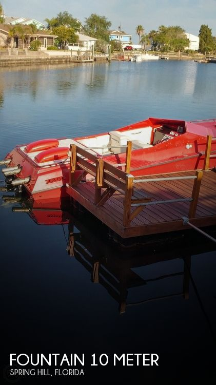 1988 FOUNTAIN 10 METER for sale
