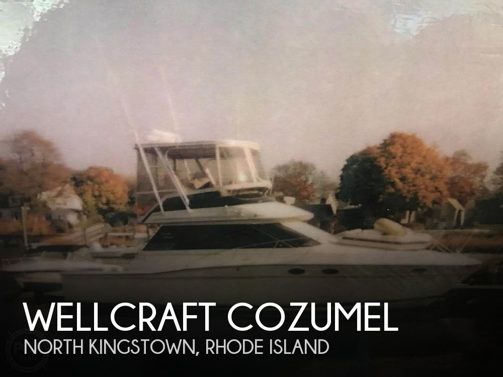 Used Wellcraft Fishing boats For Sale by owner   1988 37 foot Wellcraft Cozumel