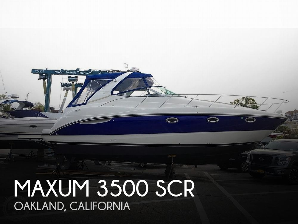 Used Boats For Sale in Santa Cruz, California by owner | 2001 Maxum 3500 SCR