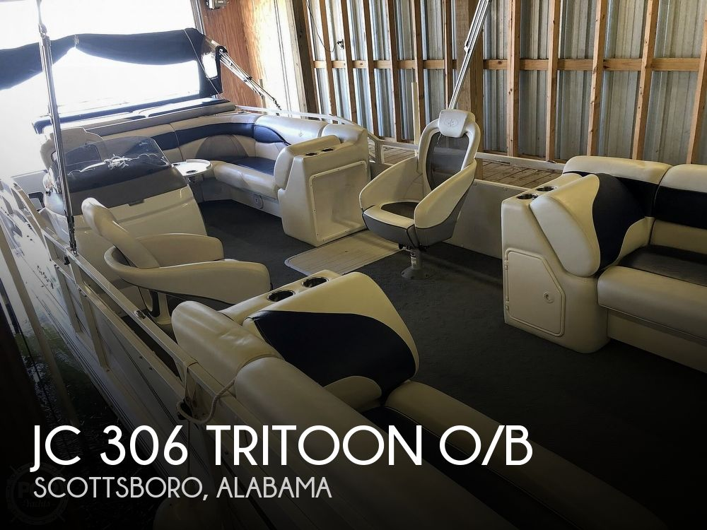 Used JC Boats For Sale by owner | 2008 JC 306 Tritoon O/B