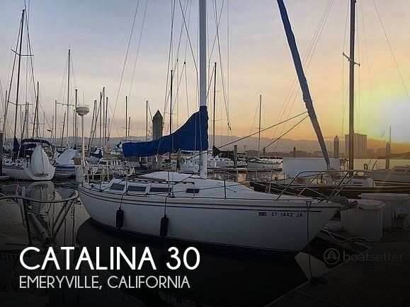 Used Catalina Boats For Sale in California by owner | 1984 Catalina 30