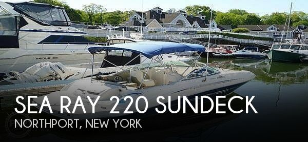 Used Sea Ray 220 Sundeck Boats For Sale by owner | 2007 Sea Ray 220 Sundeck