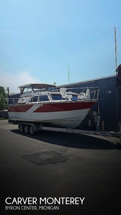 1974 Carver boat for sale, model of the boat is Monterey & Image # 1 of 9
