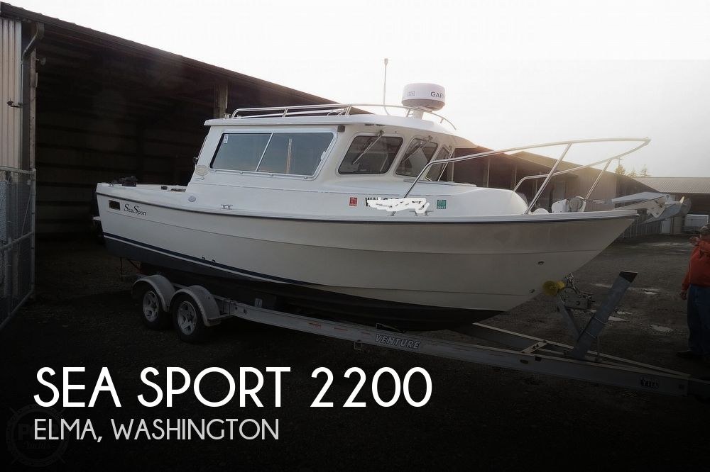 2004 Seasport boat for sale, model of the boat is 2200 Sportsman & Image # 1 of 40
