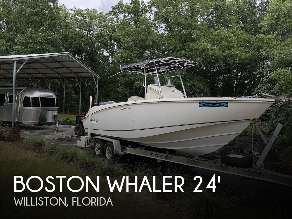Used Boston Whaler outrage Boats For Sale by owner | 2003 Boston Whaler 240 Outrage